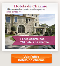 hotels charme et traditions promo