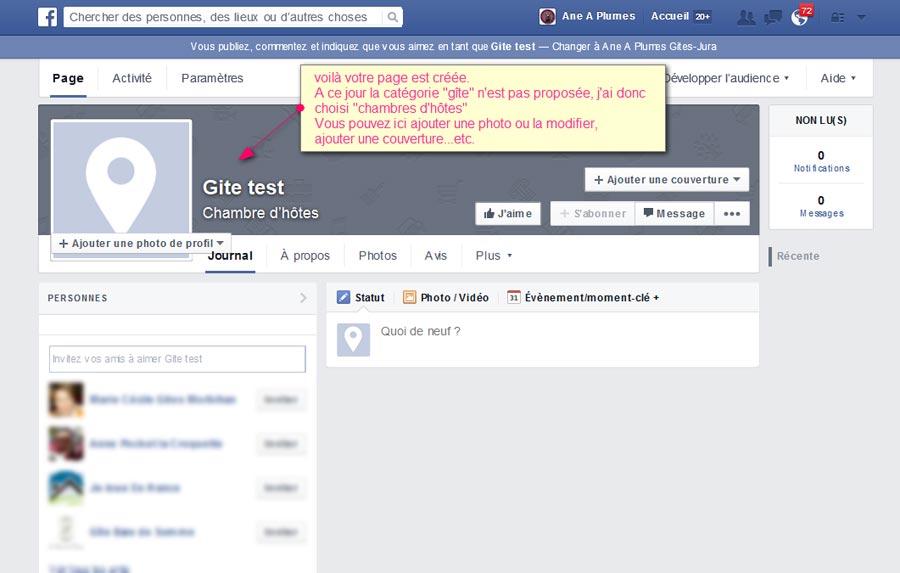 Cr er la page facebook de son g te sa chambre d 39 h tes en for Ouvrir des chambres d hotes
