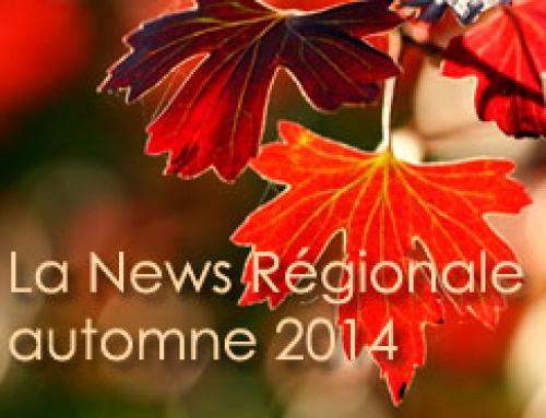 Tourisme de vos régions, automne 2014 : ça se passe près de chez vous !