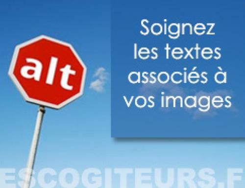 Votre site web : les textes associés aux images
