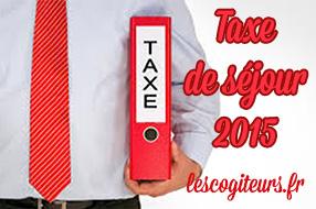 taxe sejour 2015