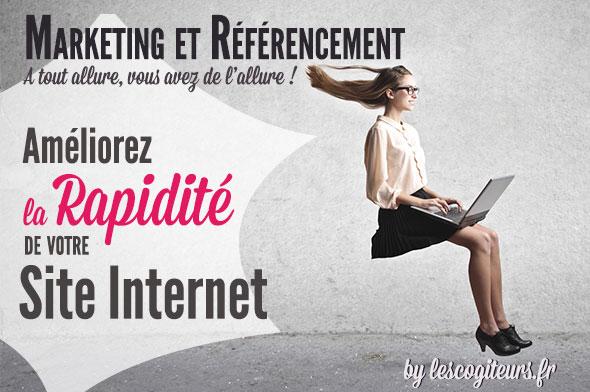 rapidité site web et référencement