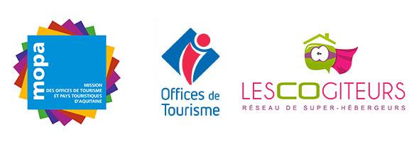 partenariat OT Aquitaine, Limousin, Poitou-Charentes