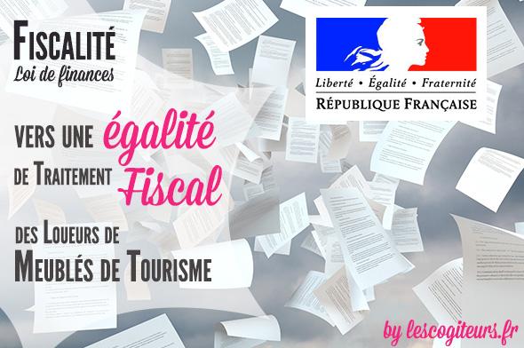 Vers Une galit De Traitement Fiscal Des Loueurs De Meubls De