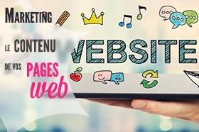 contenu pages web