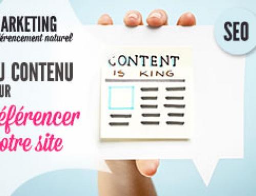 """Référencez votre site internet grâce à un contenu de """"qualité"""""""
