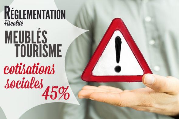 Sale Temps Pour Les Meubles De Tourisme Vers Le Paiement Generalise De Cotisations Sociales Lescogiteurs