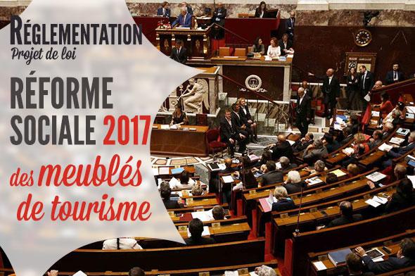 projet loi sécurité sociale 2017 pour les meublés de tourisme
