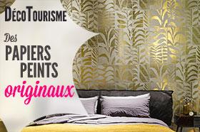 papiers peints pour chambres d'hôtes