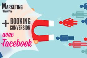 réservations vacances avec facebook