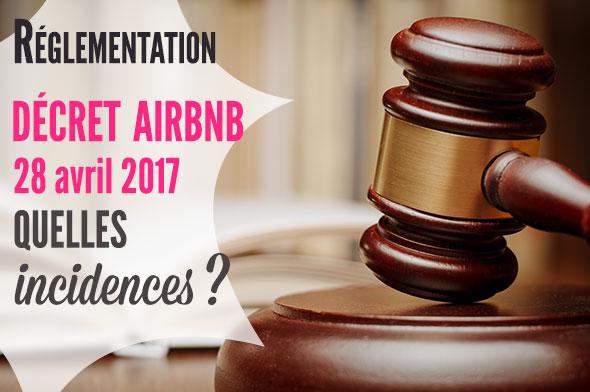 décret airbnb du 28 avril 2017