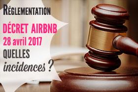 airbnb : décret du 27 avril 2017