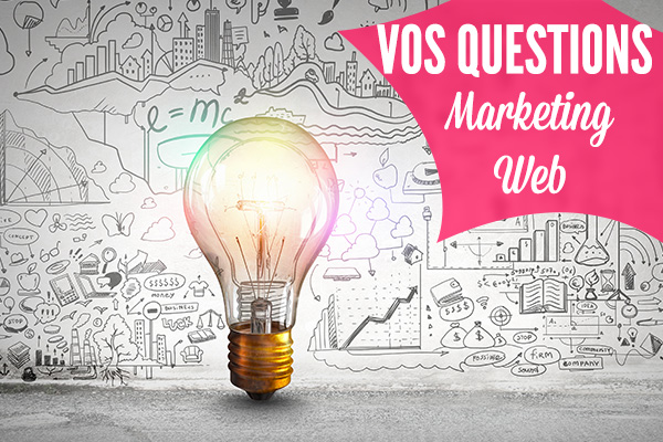 questions marketing web