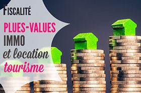 plus values immobilières sur les meublés de tourisme
