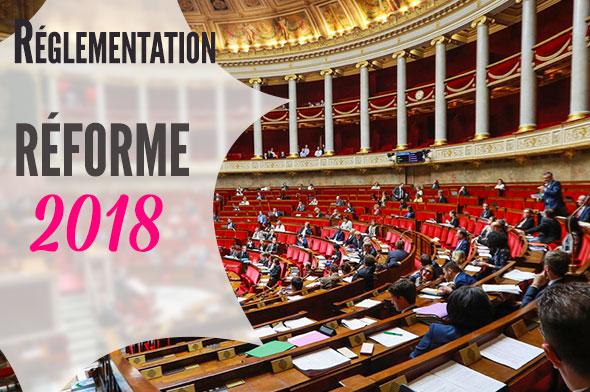 hébergement touristique et réforme 2018