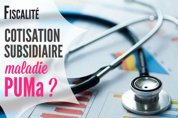 cotisation subsidiaire maladie et location tourisme