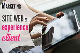 site internet soigner l'expérience client