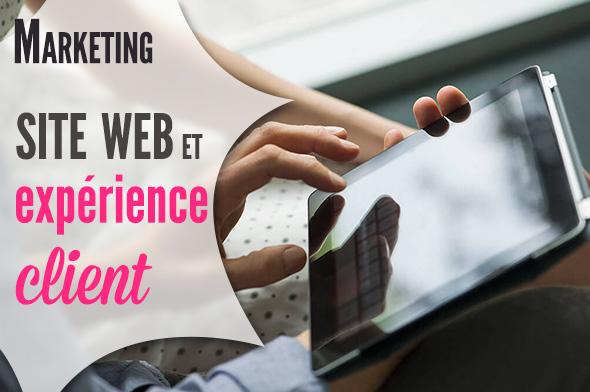 site web et expérience client