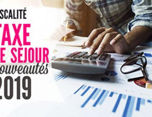 Taxe de séjour : modifications pour 2019