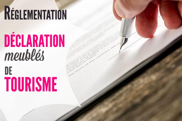 Déclaration, enregistrement et autorisation en mairie des meublés de tourisme