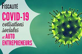 coronavirus et cotisations sociales autoentrepreneurs